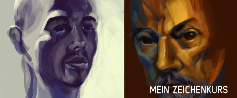 zeichnen lernen von Portraits