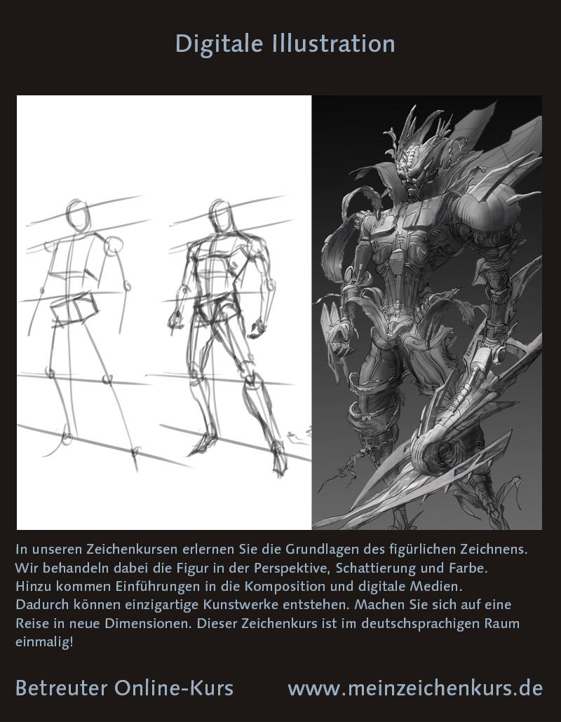 Zeichenkurs figürliches Zeichnen