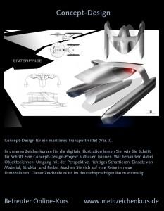 Zeichenkurs Concept Design